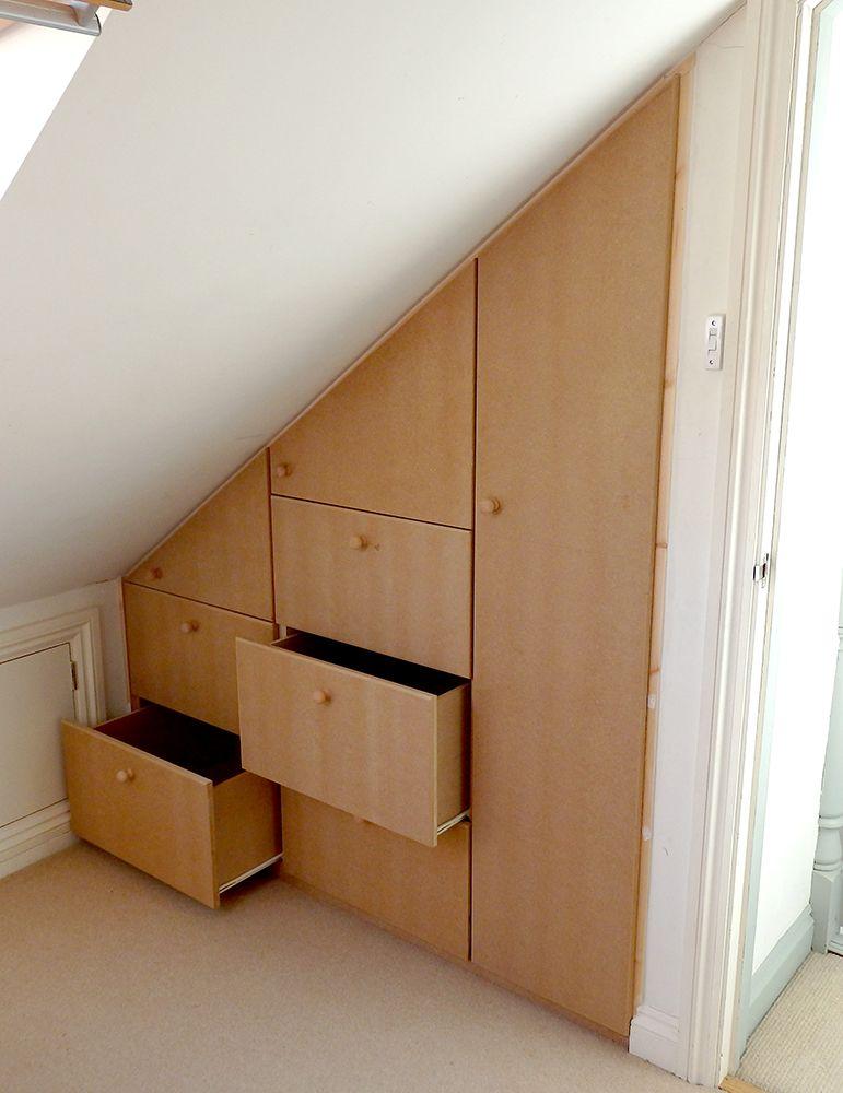 attic wardrobe ideas - Ben Vivian Cardiff Carpenter House and Garden Maintenance